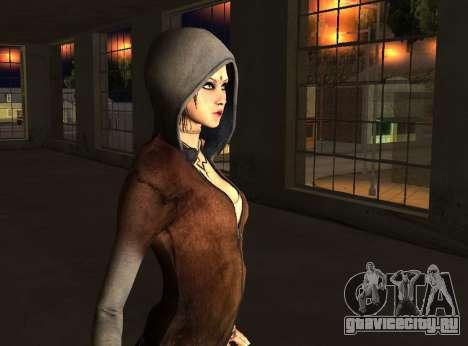 Kat from DMC для GTA San Andreas третий скриншот