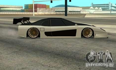 Turismo Major для GTA San Andreas вид сзади слева