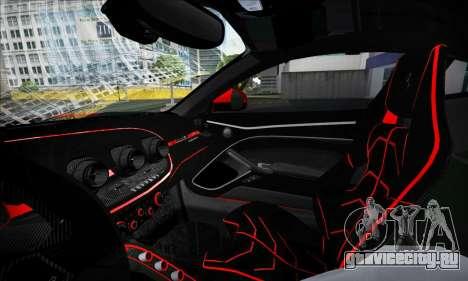 Ferrari F12 Berlinetta для GTA San Andreas вид сбоку