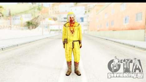 Zombie Radioactivo для GTA San Andreas второй скриншот
