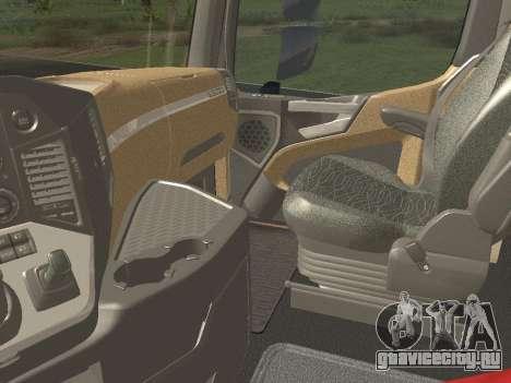 Mercedes-Benz Actros Mp4 4x2 v2.0 Gigaspace для GTA San Andreas вид сбоку