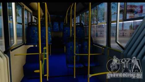 Metrobus de la Ciudad de Mexico Trailer для GTA San Andreas вид сзади