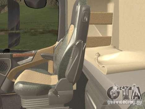 Mercedes-Benz Actros Mp4 6x4 v2.0 Gigaspace v2 для GTA San Andreas вид сбоку