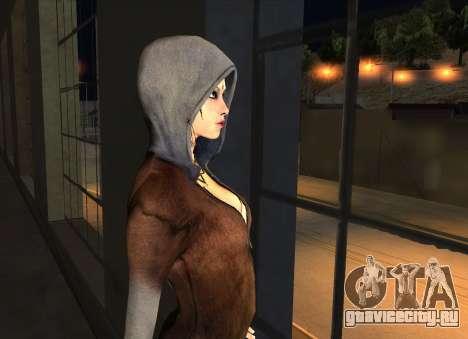 Kat from DMC для GTA San Andreas четвёртый скриншот