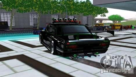 Москвич 2140 Турбо Тюнинг для GTA San Andreas вид сзади слева