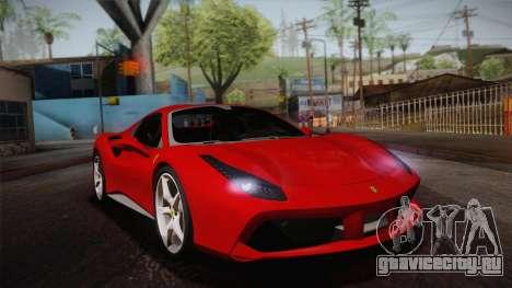 Ferrari 488 Spider тарга для GTA San Andreas