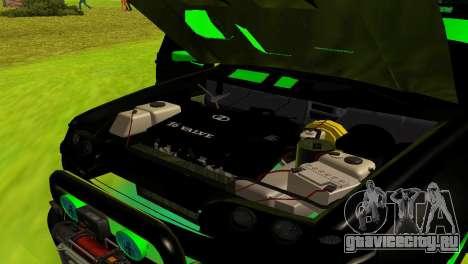 ВАЗ 2114 DTM TURBO SPORTS для GTA San Andreas вид сбоку