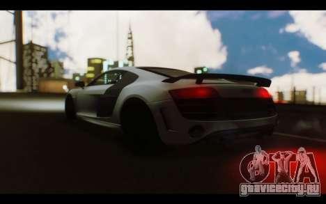 Audi R8 GT Sport 2012 для GTA San Andreas вид справа