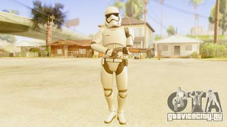 Star Wars Ep 7 First Order Trooper для GTA San Andreas третий скриншот
