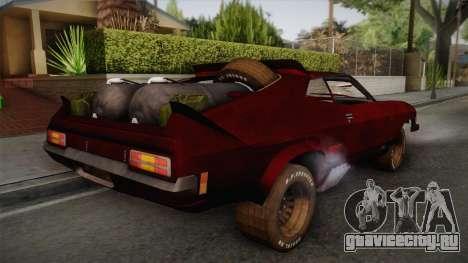 Ford Falcon XB Last V8 Mad Max 2 для GTA San Andreas вид слева