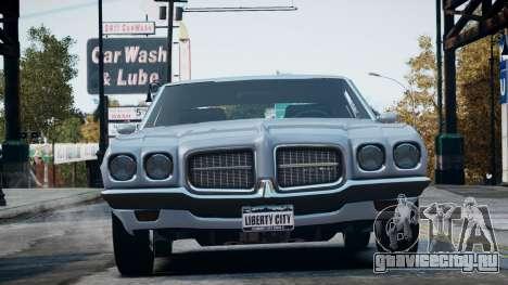 Pontiac LeMans Coupe 1971 для GTA 4