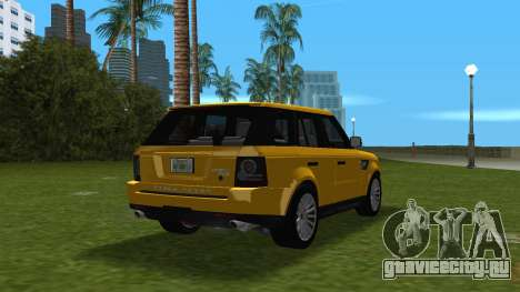 Range Rover Sport HSE (Rims 1) v2.0 для GTA Vice City вид справа