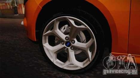 Ford Focus 2012 для GTA San Andreas вид справа