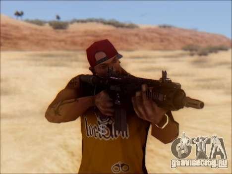 GTA 5 Vom Feuer Carbine Rifle для GTA San Andreas третий скриншот
