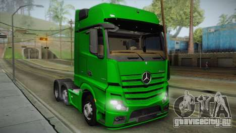 Mercedes-Benz Actros Mp4 6x2 v2.0 Gigaspace v2 для GTA San Andreas