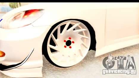 Honda Civic Vtec 2 Berkay Aksoy Tuning для GTA San Andreas вид сзади