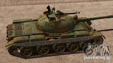 Т-62 для GTA San Andreas