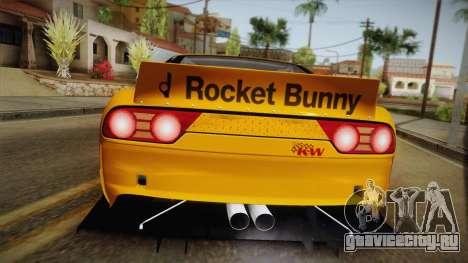Nissan 180SX Rocket Bunny для GTA San Andreas вид справа