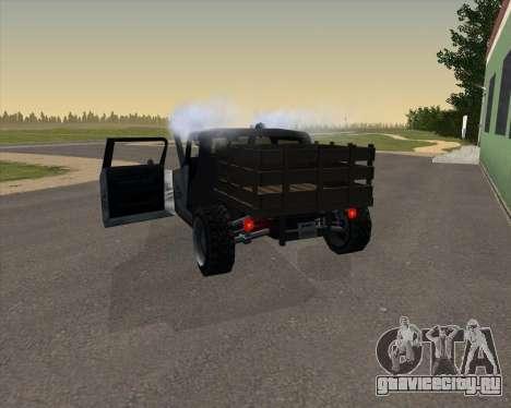 HotBaron для GTA San Andreas вид сзади слева