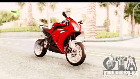 Honda CBR1000RR 2012 для GTA San Andreas