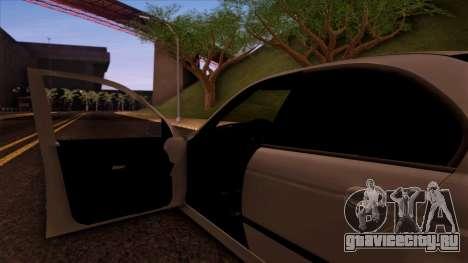 BMW M5 E39 для GTA San Andreas вид снизу