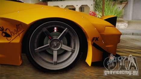 Nissan 180SX Rocket Bunny для GTA San Andreas вид сзади