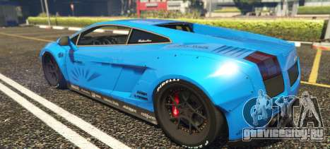 Lamborghini Gallardo Liberty Walk LB Performance для GTA 5