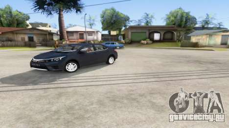 Toyota Corolla 2014 HQLM для GTA San Andreas
