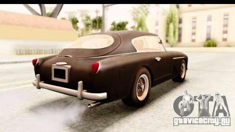 Aston Martin DB2 Mk II 39 1955 для GTA San Andreas вид слева
