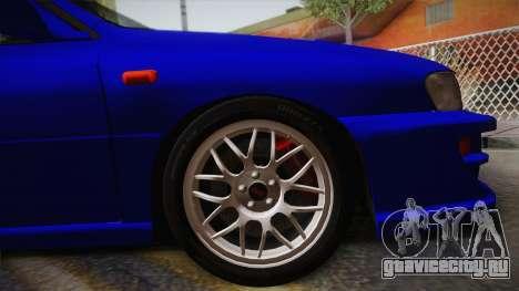 Subaru Impreza WRX STI GC8 1999 v1.0 для GTA San Andreas вид сзади слева