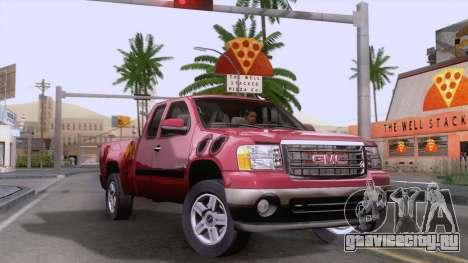 GMC Sierra 2015 для GTA San Andreas