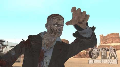 Zombie from Black Ops 3 для GTA San Andreas