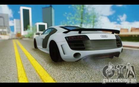 Audi R8 GT Sport 2012 для GTA San Andreas вид слева