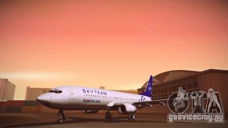 Boeing 737-800 Korean Air Skyteam для GTA San Andreas