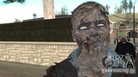 Zombie from Black Ops 3 для GTA San Andreas третий скриншот
