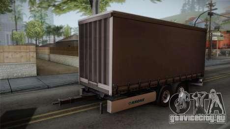 Mercedes-Benz Actros Mp4 v2.0 Tandem Trailer для GTA San Andreas