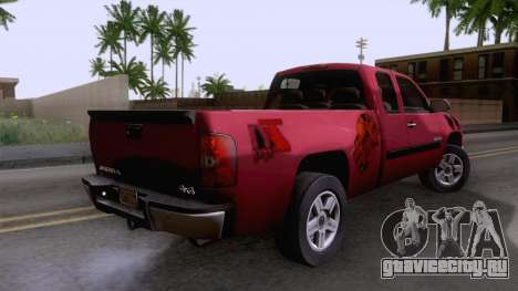 GMC Sierra 2015 для GTA San Andreas вид слева