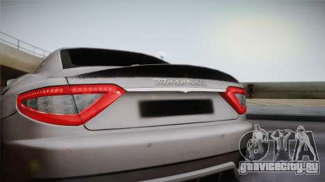 Maserati Gran Turismo Sport для GTA San Andreas вид справа