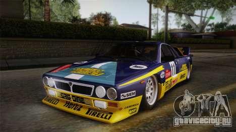 Lancia Rally 037 Stradale (SE037) 1982 IVF PJ1 для GTA San Andreas вид сзади слева