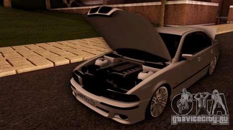 BMW M5 E39 для GTA San Andreas вид сверху