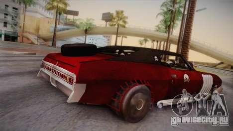 Ford Landau 1973 Mad Max 2 для GTA San Andreas вид слева