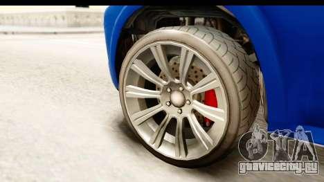 GTA 5 Benefactor XLS для GTA San Andreas вид сзади