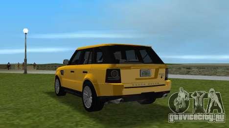 Range Rover Sport HSE (Rims 1) v2.0 для GTA Vice City вид сзади слева