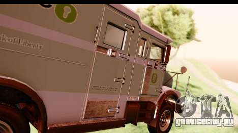 GTA 5 Stockade v2 IVF для GTA San Andreas вид сзади
