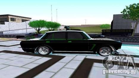 Москвич 2140 Турбо Тюнинг для GTA San Andreas вид слева