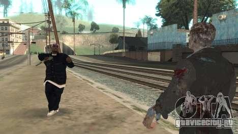 Zombie from Black Ops 3 для GTA San Andreas пятый скриншот