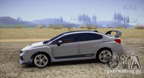 Subaru WRX STI LP400 2016 для GTA San Andreas вид слева