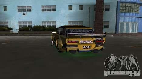 VAZ 2106 Fantasy Art Tunning для GTA Vice City вид сзади слева
