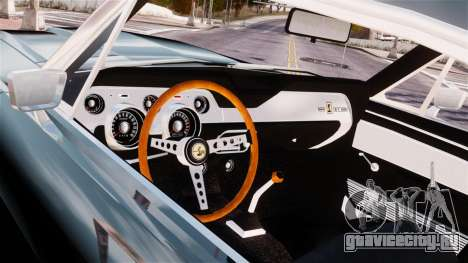Ford Mustang Shelby GT500 1967 для GTA 4 вид сзади