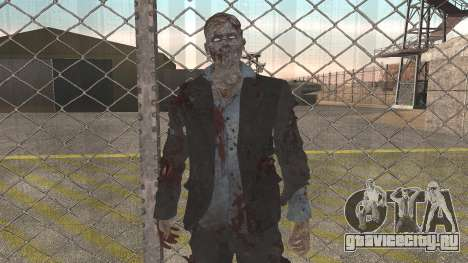 Zombie from Black Ops 3 для GTA San Andreas второй скриншот